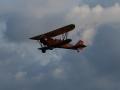 Biplane flyingR